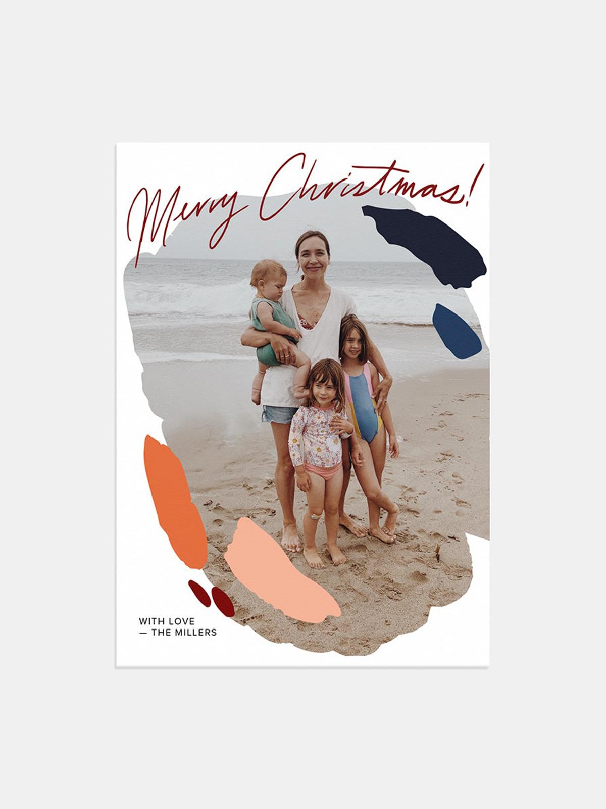 Artifact Uprising Bold-Brushed Holiday Card